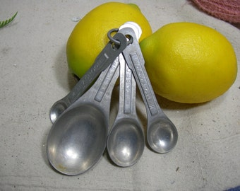 Aluminum Measuring Spoon Set
