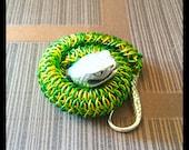 Reserved for Arenda Pace - Dragonscale Snake Bracelet