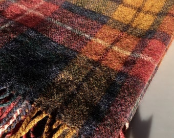Vintage Bronte Tweeds Wool Throw