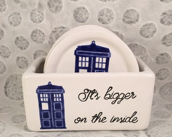 Doctor Who Coaster Set
