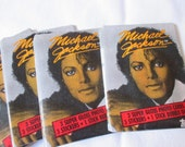 rare unopened 1984 Topps Michael Jackson photo cards and  sticker set new unopened original packaging