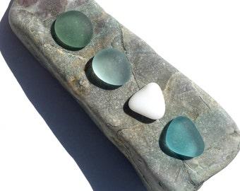 Beach Goddess Mermaid Stones, Genuine Sea Glass, Glass Beach California, Beach Stones, Aqua, Sage, Make Beach Glass JEwelry, Mermaid Pebbles