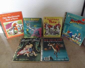 Lot of Six children Books