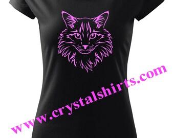 Cat, Maine Coon T-shirt