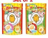 2pcs set Heart  Gudetama EGG Kawaii pudding DIY Japanese candy KIT
