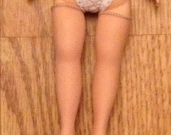 "Better Than Vintage  Nude Hose Stockings for 9"" Madame Alexander Cissette doll"