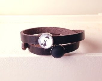 Cuoio leather strap Mary Poppins