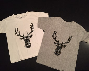 Christmas Tribal Reindeer Tee