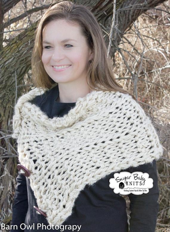 Pashmina Cowl Knitting Pattern : KNIT PATTERN - Knit Ceilidh Cowl, Winter, Hand Knit Cowl Pattern, Shawl, Crea...
