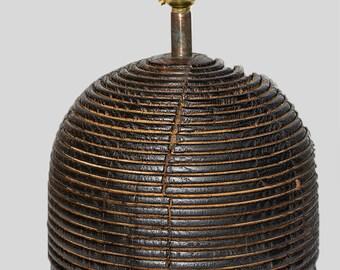 Oak Beam Beehive lamp