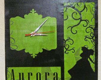 Princesses: Aurora Clock