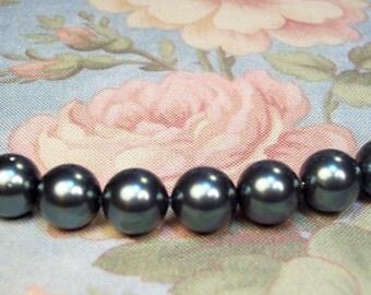 10 Swarovski Pearls 20% Off Tahitian 10mm Crystal Pearls