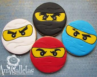 Ninjago Cookies - 1 dozen