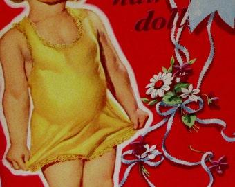 Vintage 1950 Whitman HONEY the HAIR-BOW Paper Dolls  Uncut ** Epsteam