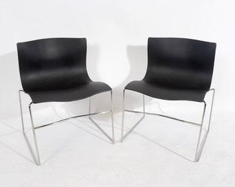 Vignelli for Knoll Handkerchief Chairs Mid Century Modern