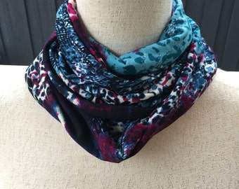 """Womens Multi-Colour Scarf. This Design is Called the """"Dena"""""""