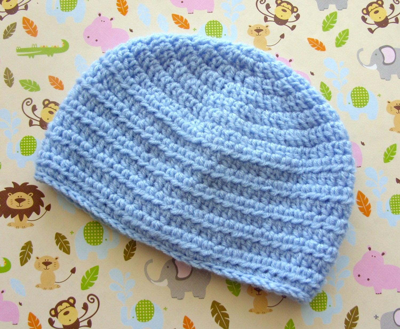 Easy baby hat crochet pattern baby boy hat pattern zoom bankloansurffo Gallery