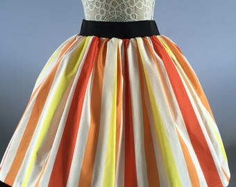 Ladies or girls Mary Poppins inspired Jolly Holiday full skater style skirt