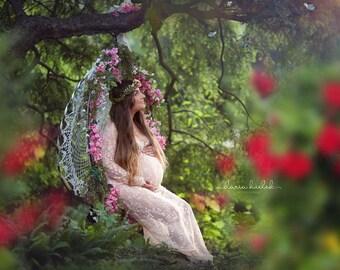 Camille Gown | Blush Lace •sale•