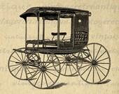 Antique Carriage Graphic Digital Download Wagon Image Printable Illustration T-Shirts Jpg Png Eps 18x18 HQ 300dpi No.3694