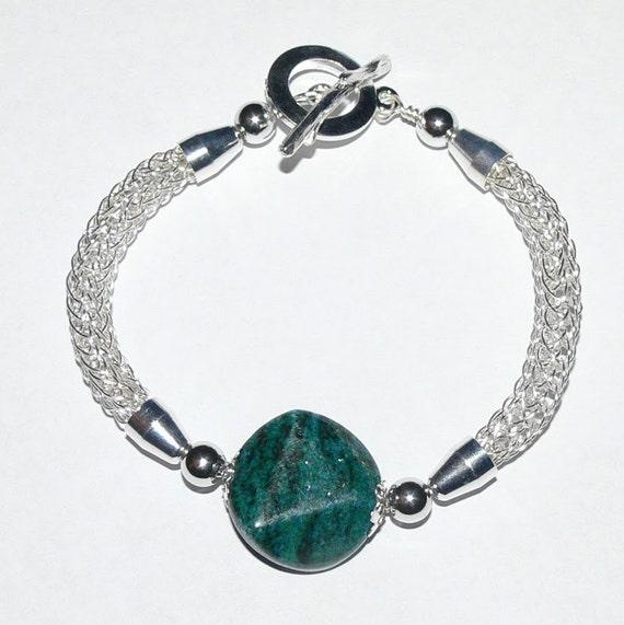 Knitting Jewelry Kits : Viking knit bracelet kit and tutorial non tarnish silver