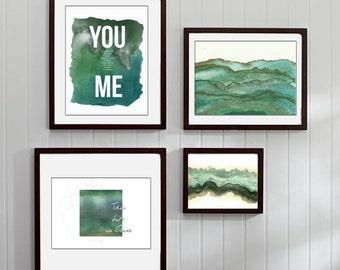 You and Me Art Bundle Set of Four