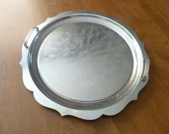 Large Stainless Serving Tray