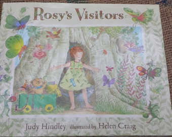 Rosy's Visitors - By Judy Hindley - Hardcover