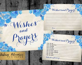 Wishes and prayers, Baptism Prayer, Baptism Sign,  Baptism,  Flower, floral,Christening, Dedication ,First Communion, Baptism Blue moods