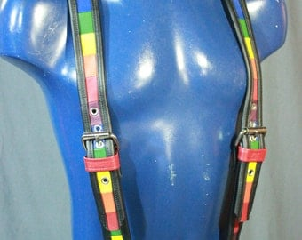 Our Hand Made PRIDE suspenders!