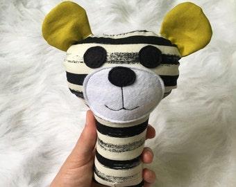 "Munchkin Rattle - Baby Bear - 7"" - Ready to Ship"
