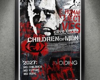 "Children of Men - ""Human Remains"" 13x19"