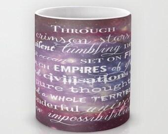 Doctor Who Mug, Doctor Who Quote Mug, Doctor Who, Tardis, Mug