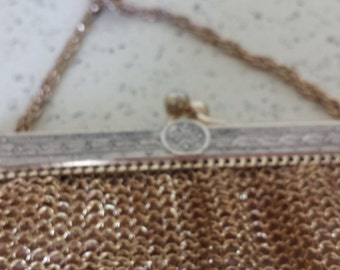 Whiting and Davis Purse - Shoulder Strap