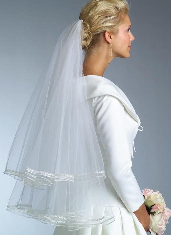 Vogue 8374 Wedding Veil Sewing Pattern New Uncut Veils