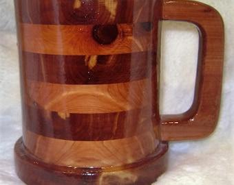 Large 30 ounce Cedar tankard Mug