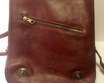 Genuine Leather Satchel/Backpack