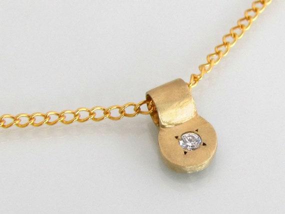Diamond Necklace Wedding Gift : Bridal necklace, diamond necklace, 14k gold necklace, diamond pendant ...