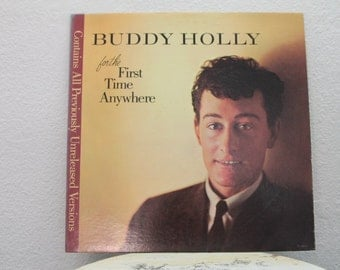 "Buddy Holly - ""The Buddy Holly Story"" vinyl record, 1963"