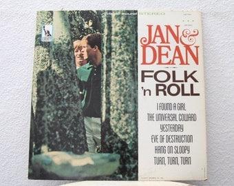 "Jan & Dean - ""Folk 'N Roll"" vinyl record"