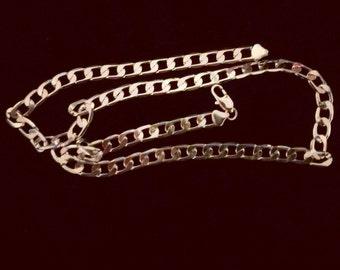 """Elegant Linked 22"""" Necklace."""
