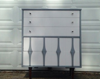 Mid Century Painted Dresser