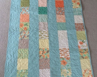 Baby Blues Baby Quilt