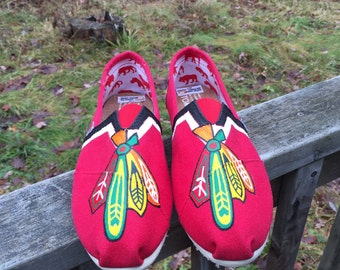Feather Painted Toms