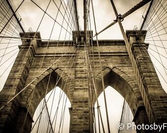 Brooklyn Bridge Custom Print