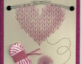 For the Knitter card