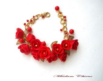 Bracelet for shoes, a bracelet on his leg, shoes, shoe necklace, necklace with roses, elegant necklace, bracelet for sandals