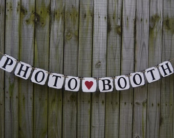 Wedding Banner -  PHOTO-BOOTH Engagement Party Decoration - Photo Prop
