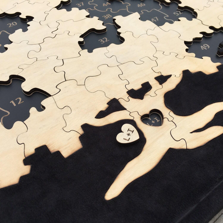 Puzzle Piece Wall Decor ~ Instadecor.us