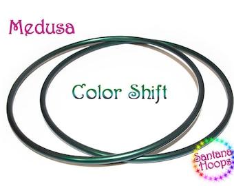 5/8 Mini Twins Medusa Color Shifting Polypro Hula Hoop Minis